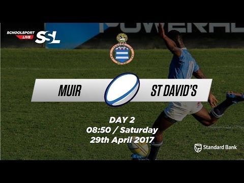 Grey Festival: Muir 1st XV vs St David's 1st XV, 29 April 2017