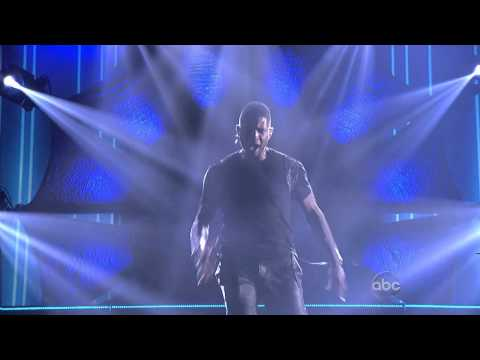 Usher - Numb / Climax / Can't Stop Won't Stop (American Music Awards 2012) HD