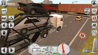 #2  Euro Truck Driver Simulator ✦ Android Game Play HD By Ovidiu Pop