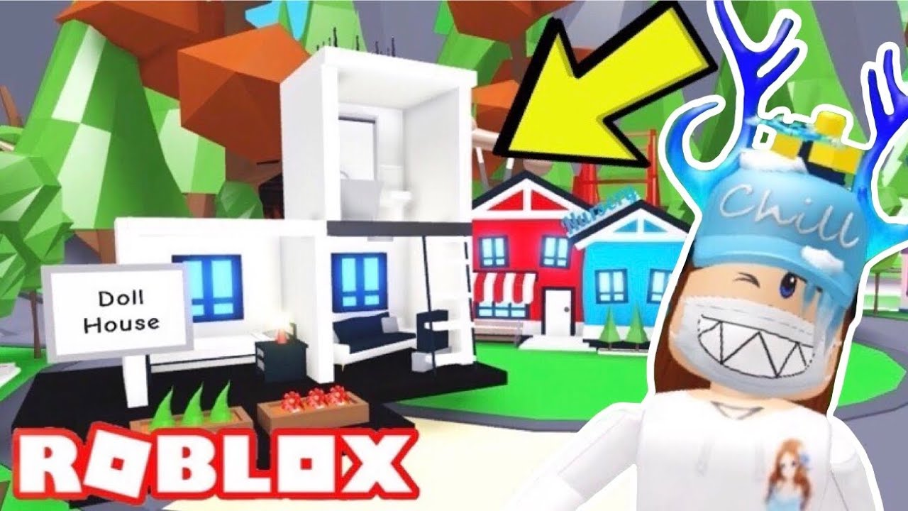 How to build ANYWHERE in Adopt me (Roblox) Building a ...
