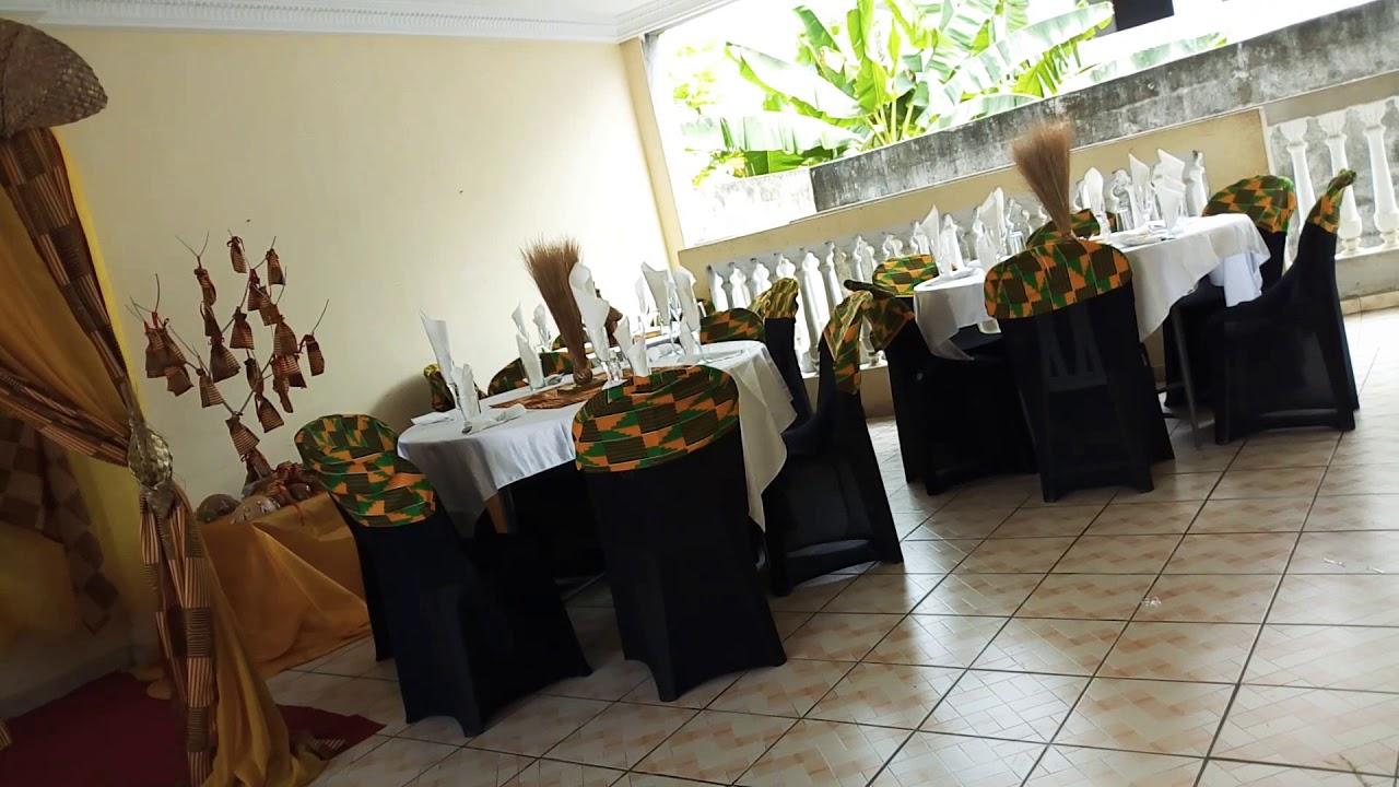 Decoration Mariage Traditionnel Ivoirien Attie Senoufo Youtube