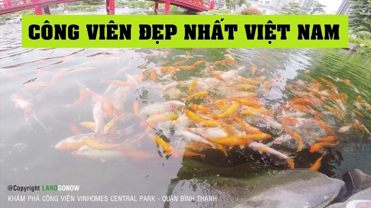 Khám phá công viên Vinhomes Central Park Tân Cảng, Nguyễn Hữu Cảnh, Quận Bình Thạnh – Land Go Now ✔