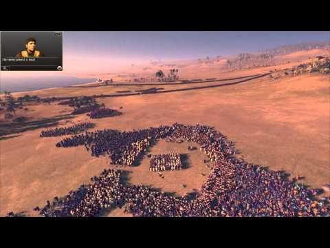 """Total War: Rome 2 - Massive Battles - """"1000 Spartans vs. 20,000 Eastern Spearmen"""""""
