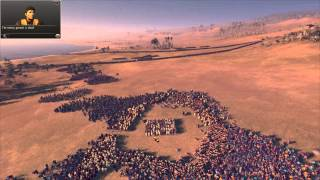 Total War: Rome 2 - Massive Battles - '1000 Spartans vs. 20,000 Eastern Spearmen'
