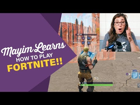 Mayim Learns How To Play Fortnite  Mayim Bialik