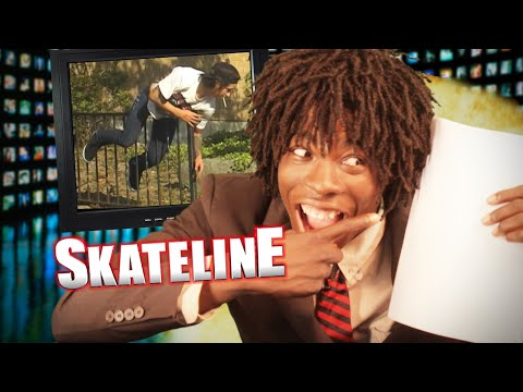 SKATELINE - Nyjah Huston Tattoo, Plan B...