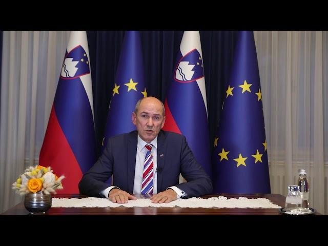 Nagovor PV Janeza Janše državljankam in državljanom Republike Slovenije ob epidemiji koronavirusa