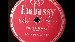 MR SANDMAN - FOUR IN A CHORD 1954 (Back to the future) DoGramofonu.PL