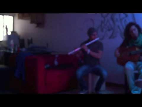 Ensayando el intro de la farruca con mis carnales de Flamenco dreams!!