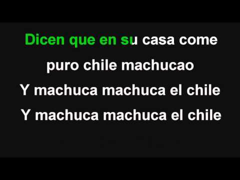 Los Karkis (karaoke) - Machuca el chile KARAOKE DEMO