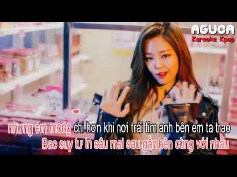 [Karaoke Việt + Audio] WHISTLE - BLACKPINK