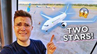 FLYING EUROPE'S WORST AIRLINE - Ukraine International (2-Star Airline)