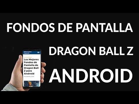 Los Mejores Fondos de Pantalla de Dragon Ball Z para Android