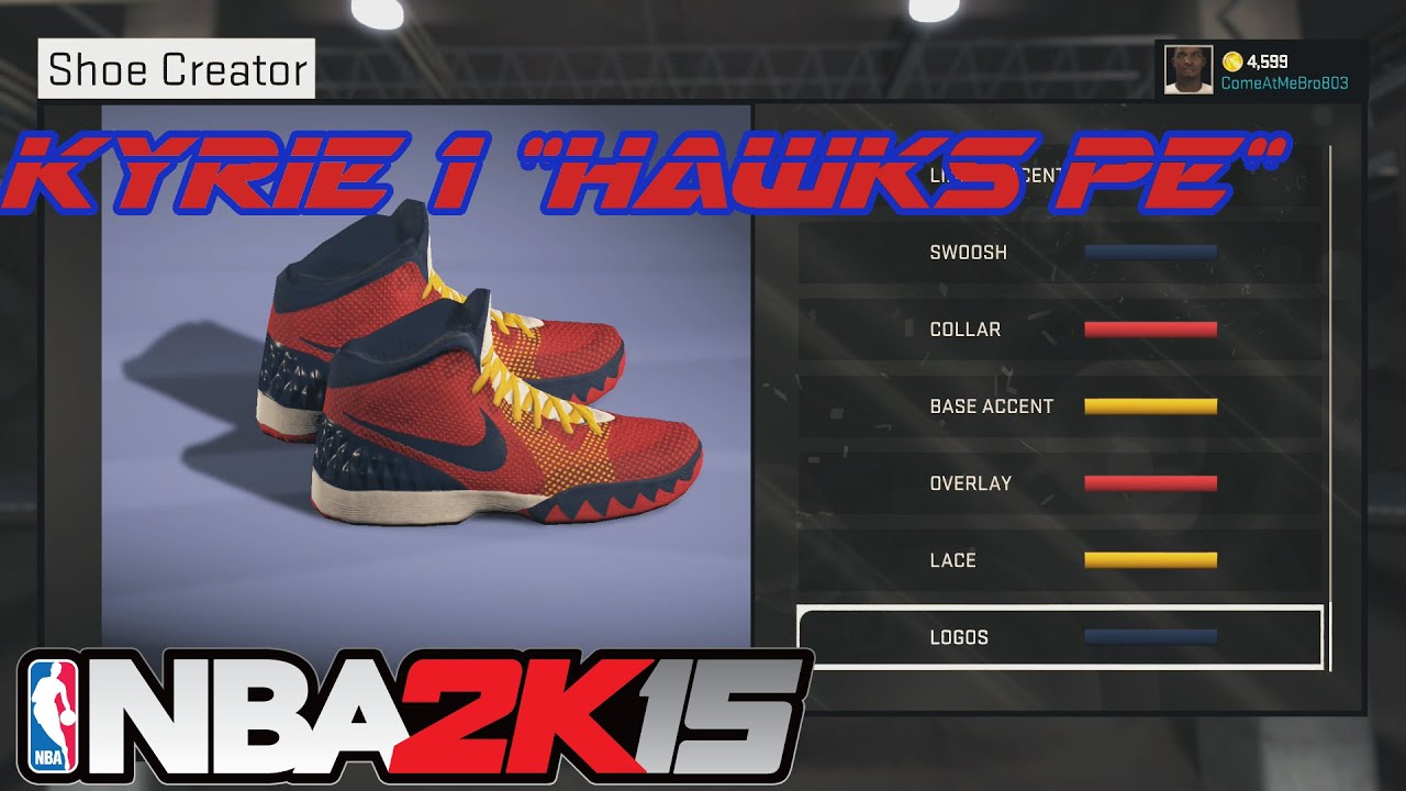premium selection b7b7e bb485 italy nba 2k15 all star game 2015 roster update b9937 7bdbd  italy nba 2k15  shoe creator kyrie 1 hawks xbox one ps4 9c3c1 3c497