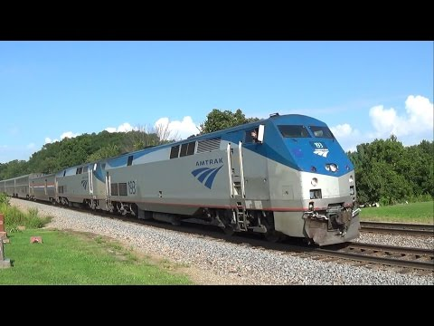 Wave from Amtrak with George M. Pullman Sleeper