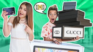 ANYTHING My BOYFRIEND Can CARRY,  I'll BUY It Shopping Challenge **BAD IDEA**💰❤️| Piper Rockelle
