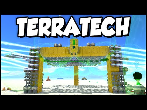 Terra Tech ➤ New Refinery Base, Resource Sorting, & New Improved Mining Vehicle [TerraTech Gameplay]