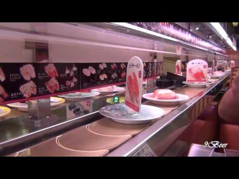 เที่ยวญี่ปุ่น ซูชิ 105 เยนแสนอร่อยร้าน Kappa sushi