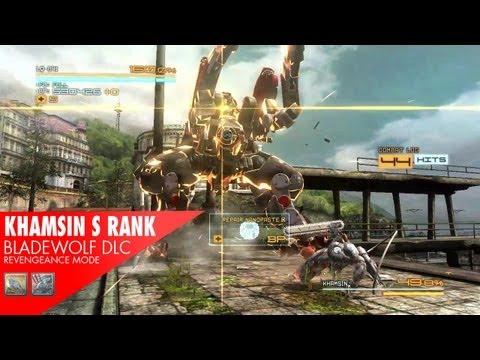 BladeWolf DLC BOSS - Khamsin S Rank (Revengeance)