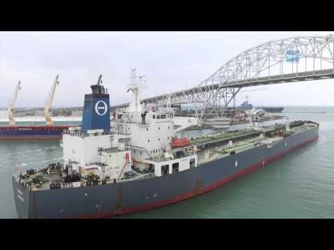 THEO T Departs Port Corpus Christi   First US Crude Oil Export Since Lift of Ban