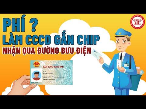 Phí Làm CCCD Gắn Chip Nhận Qua Đường Bưu Điện   TVPL   Foci
