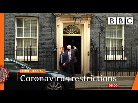 Covid: New local lockdown restrictions in England to be unveiled @BBC News LIVE on iPlayer 🔴 - BBC