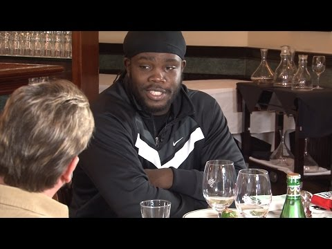 One on One with Bermane Stiverne at Smith and Wollensky