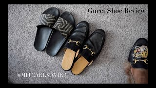 Gucci Shoe Review (Princetown Loafers, King Slippers, & Gucci Caleido Slides)