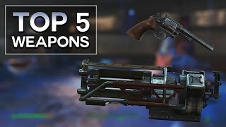 Nuka World DLC - Top 5 Weapons (Fallout 4)
