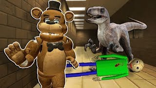 Baldi's School of Dinosaurs in Gmod!? - Garry's Mod Multiplayer Dinosaur Survival