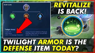 REVITALIZE IS BACK? TWILIGHT ARMOR IS THE DEFENSE ITEM TODAY? | HYLOS CLASSIC GAME