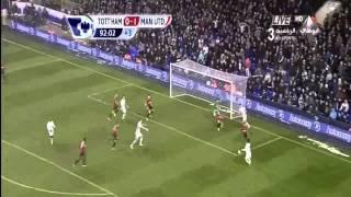 Full HD Tottenham Vs Manchester United 1 1 01 20 2013 Goals