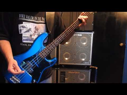 The Ataris Boys of Summer Bass cover