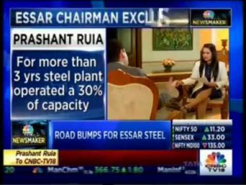Prashant Ruia speaks to CNBC-TV18 on Essar Oil Deal