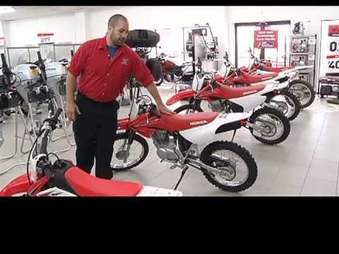 Motorsports Choosing The Right Size Dirt Bike