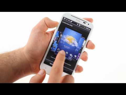 HTC Sensation XL unboxing and UI