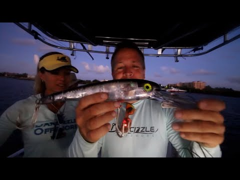 The SECRET To Catching Big Fish:  GIANT LURES