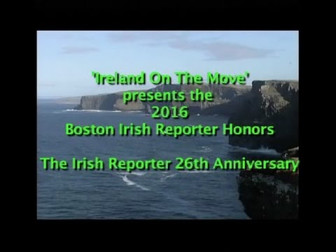 2016 Boston Irish Honors - A Tom Clifford Production