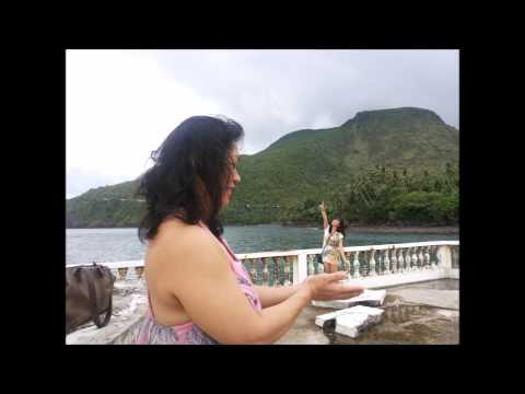 Camiguin Island Sunken Cemetery December 2013 Guided Tour