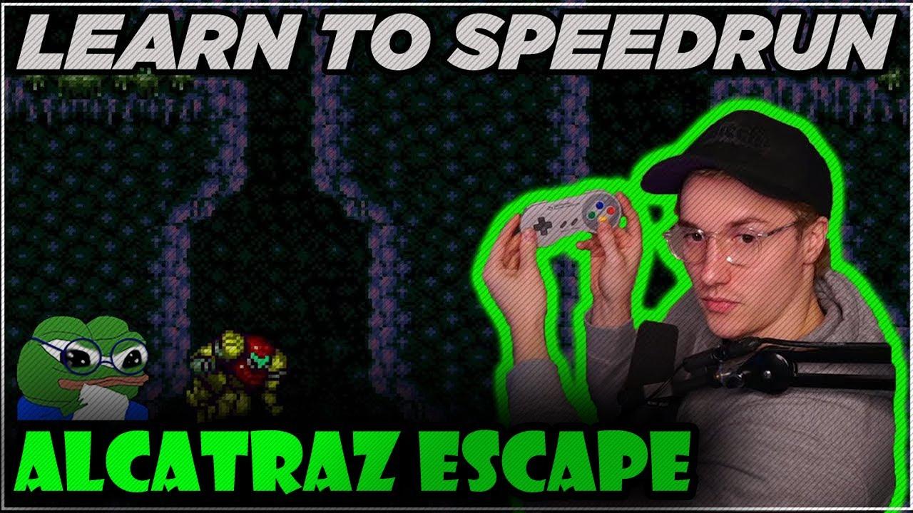 Learn to Speedrun Super Metroid   Alcatraz Escape