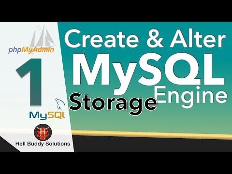 MySQL storage engine Part 1 -- CREATE, ALTER & Error Engine #1217 & #1214.
