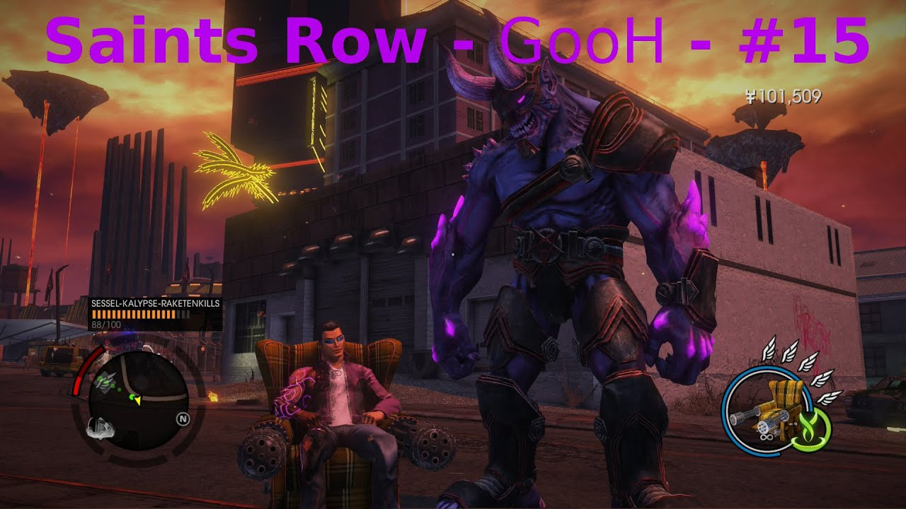 Saints Row Gat Out Of Hell Sessel Let S Play Saints Row G O O H Deutsch German 15 Herausforderungen U V Gesammelt