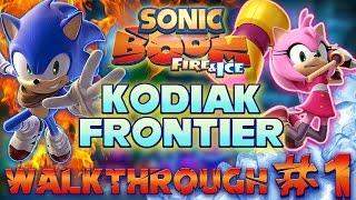 ABM: Sonic Boom Fire & Ice  *Kodiak Frontier* Walkthrough 1  HD