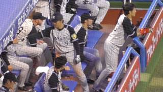東京ヤクルトスワローズ対阪神タイガース 神宮球場 2017.5.21.
