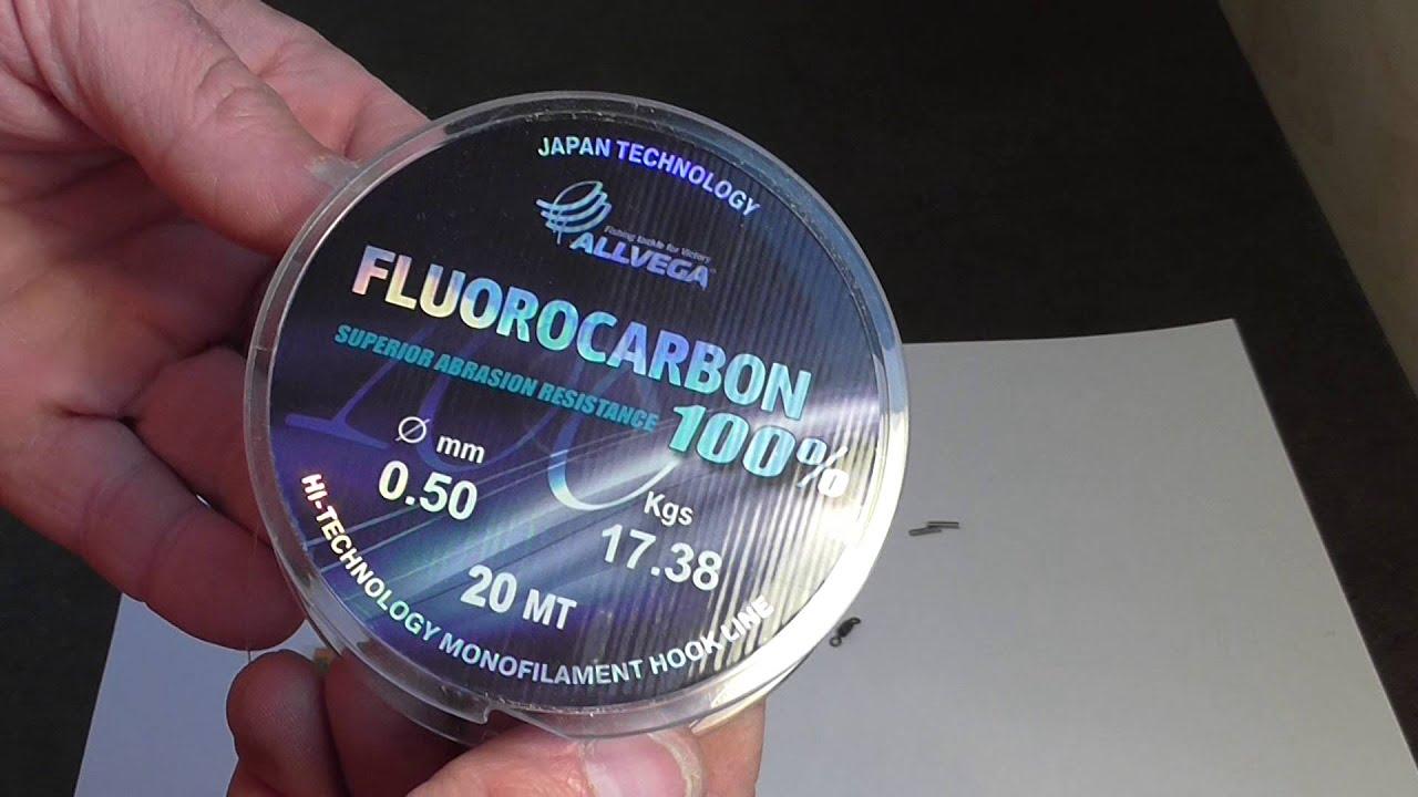 Флюрокарбоновый поводок