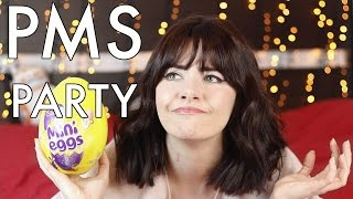 I Gain 10lbs Overnight Before My Period | PMS Party 3 | Melanie Murphy