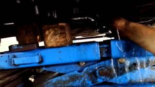 Слив масла с двигателя  пежо боксер Peugeot boxer 3