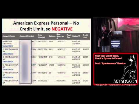 SkyDogCon 2   20 Hack your Credit Score, How the System is F