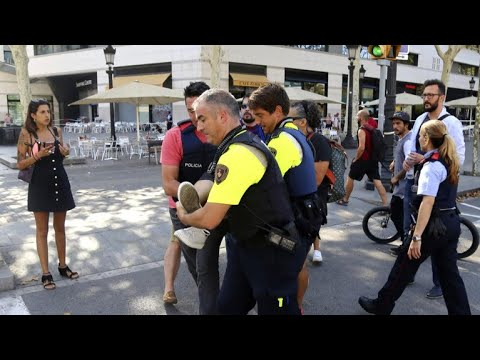 Eyewitness to deadly attack in Barcelona