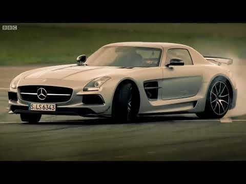 Petrol vs Electric   Mercedes SLS AMG Battle   Top Gear   Series 20   BBC